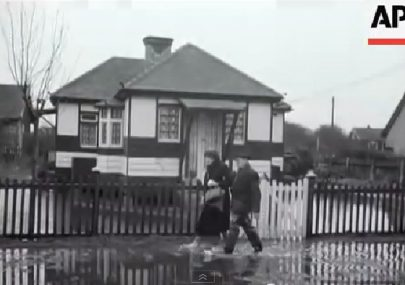 1953 Canvey Island flood aftermath