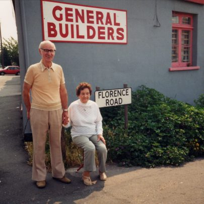 Jimmy and his wife revisit Florence Road | (c) 2010 Tricia Booth