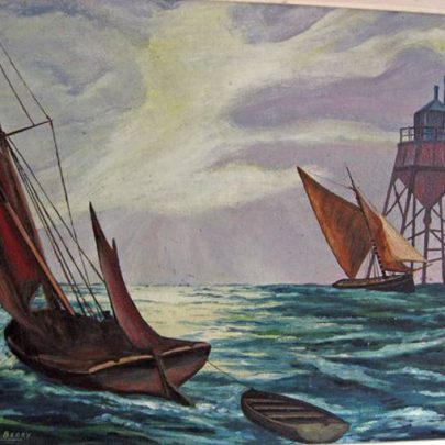 Canvey in Art | Painting by George Berry