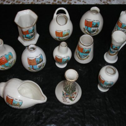 12 Miniature porcelain from Canvey/ on sea /island Coronet, Carlton and Shelly | Carol Rowles