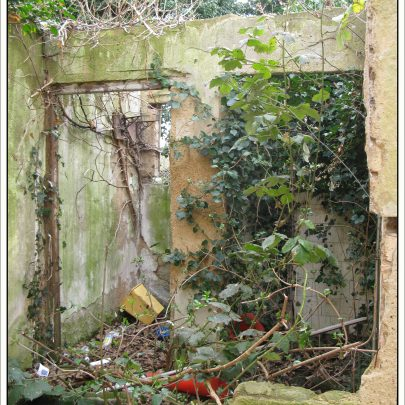 Kynochs Club: Remains of old Toilets | (c) David Bullock