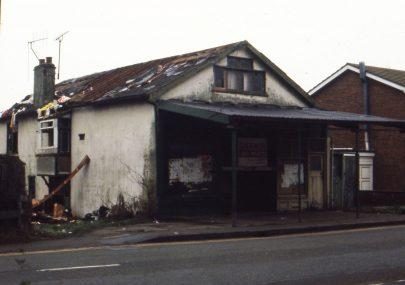 Demolition of Holmes Brothers hardware shop