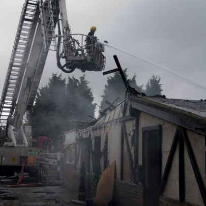 Before the roof fell in | Essex County Fire and Rescue Service