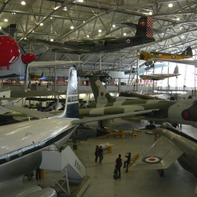 Imperial War Museum, Duxford. Just time for a quick look in the hamgers when we arrived for the presentations | Janet Penn