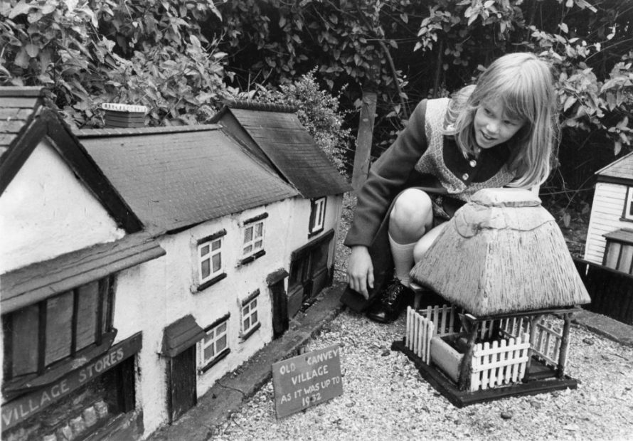 The model village showing the shops and pump at the top of Haven Road taken in the summer of 1973 | Echo Newspaper Group