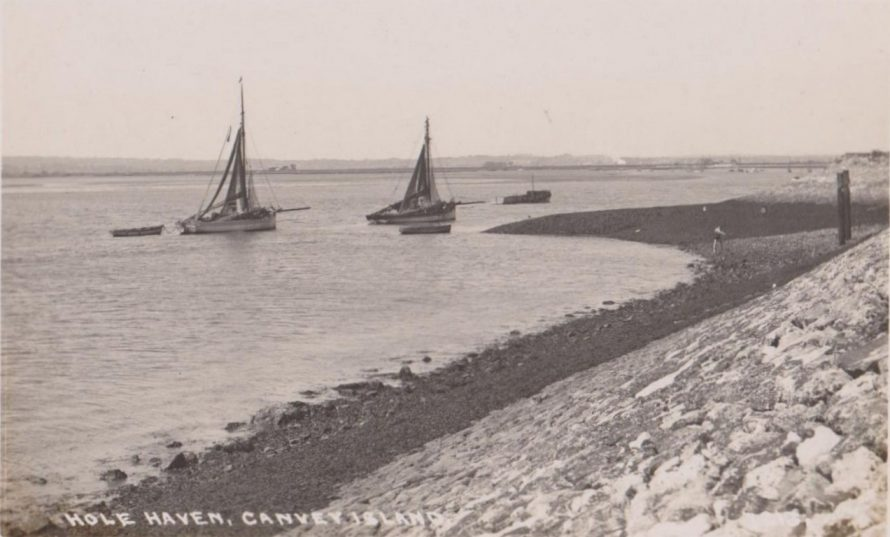 The Lobster Smack and Hole Haven 1930s
