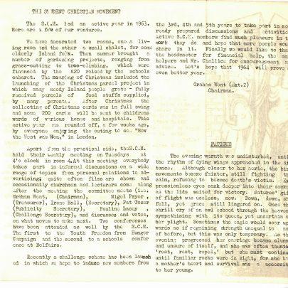 The Islander 1964
