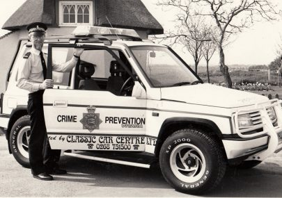 New Crime Protection Vehicle