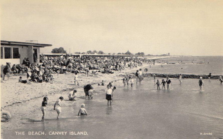 Beach and Seawall