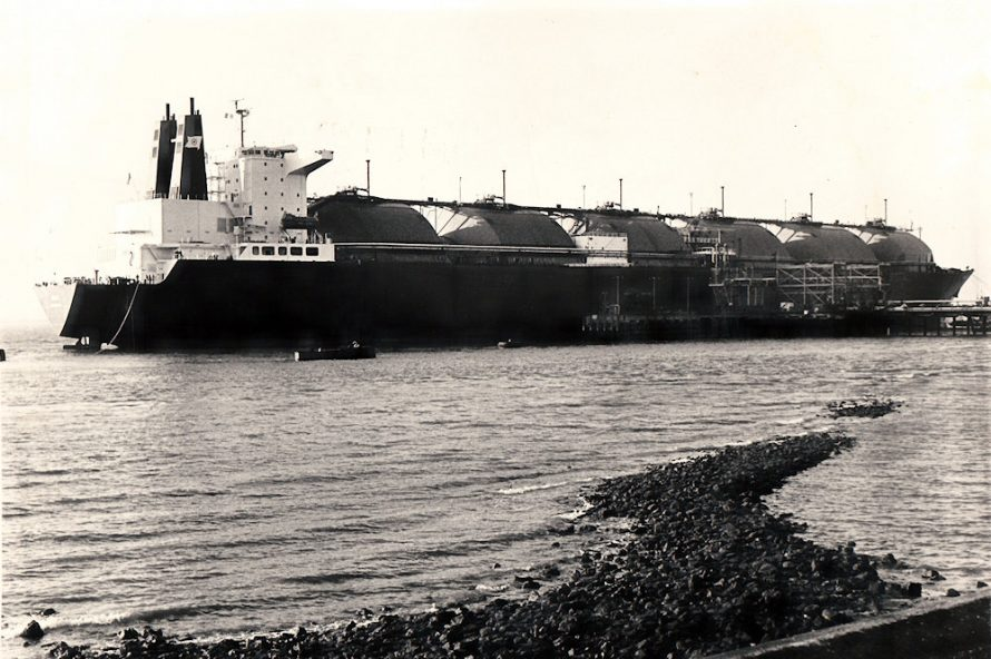 Gas Tankers Docked at Canvey | Echo Newspaper Group