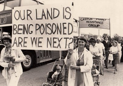 Our Land is being Poisoned