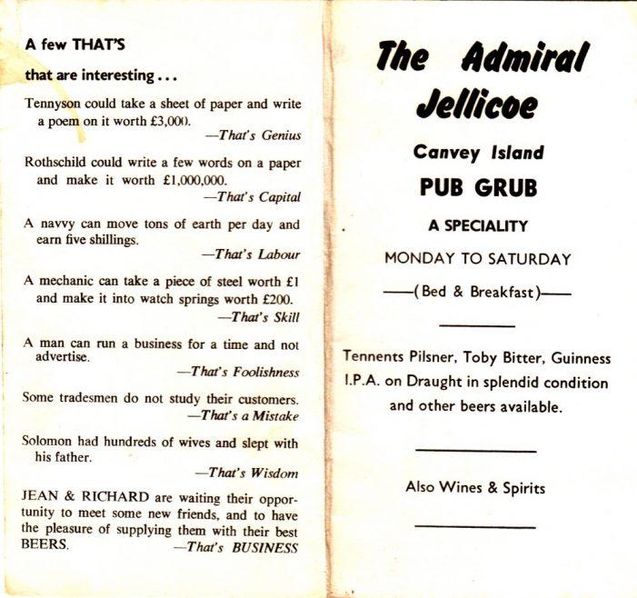 The Admiral Jellicoe