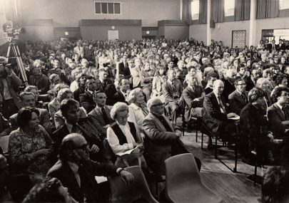 Public Meeting over Gas Installations 1978