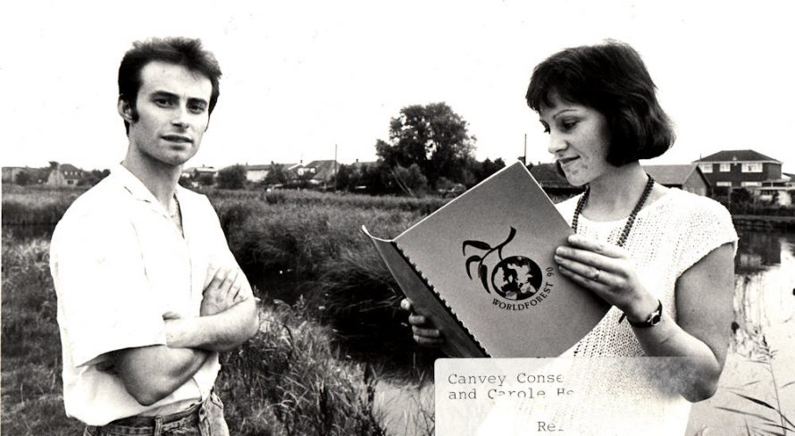 Steve and Carole Hedges Canvey Conservationist | Echo Newspaper Archive