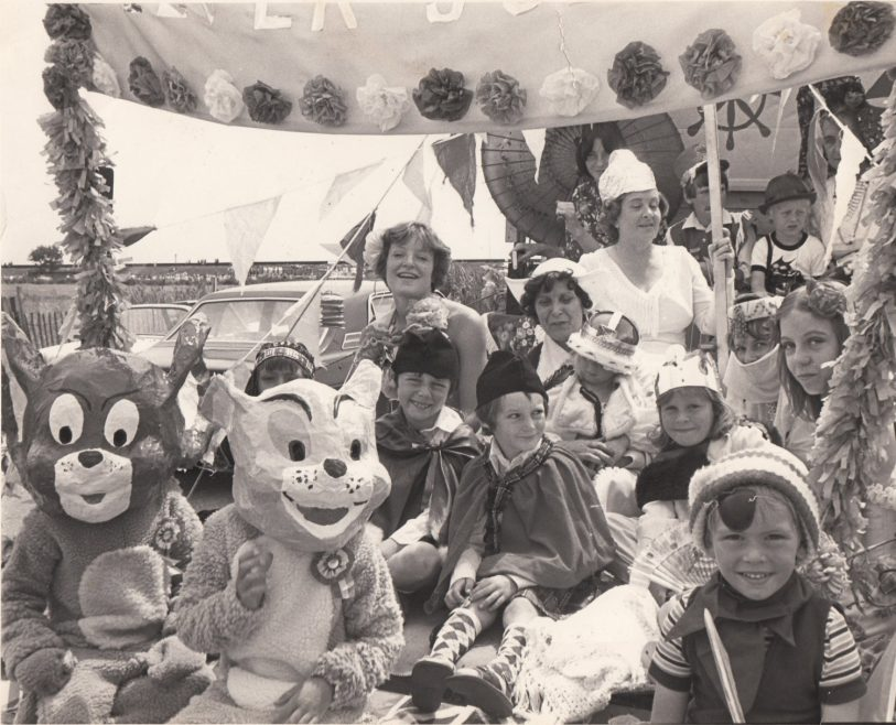Canvey Carnival in 1979 with Joy's son in foreground. | Joy Greenwood