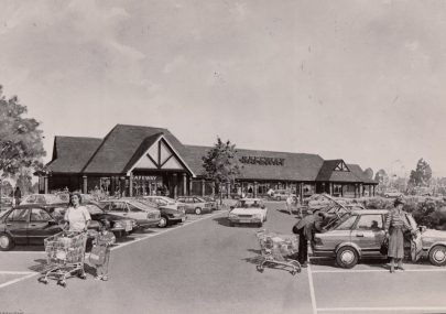 Artist Impression of New Foodstore 1991