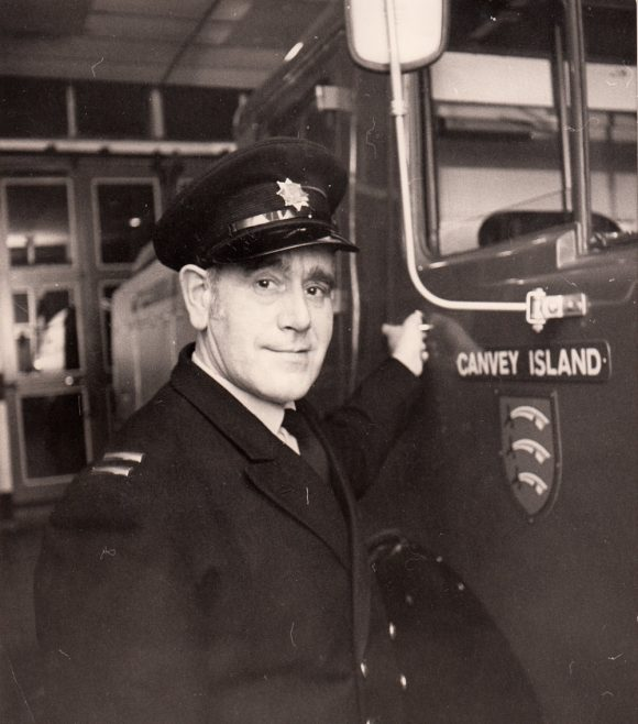 Station Officer George Blackwell | Echo Newspaper Archive
