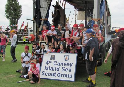 4th Canvey Island Sea Scout Group 2011 Carnival float