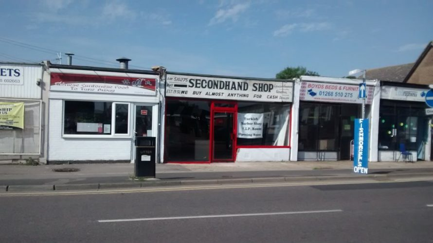 2015 The Secondhand Shop become the Golden Touch a barbers | Martin Lepley