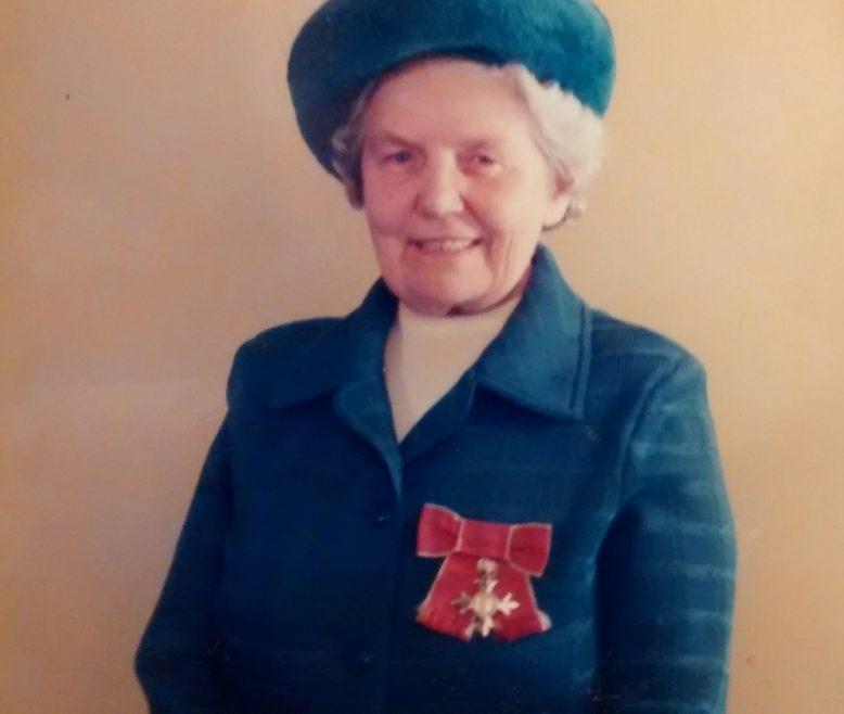 Madge Moore OBE