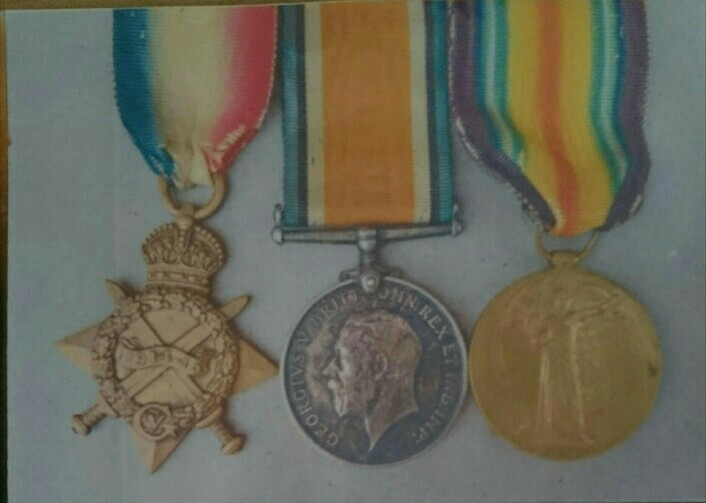 SGT Arthur Brignull,  1st Essex Regiment, 1914-18