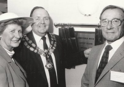 Opening of Abbeyfield House