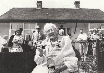 Mary Webb's 100th Birthday