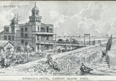 Advertising Postcard Kynoch Hotel