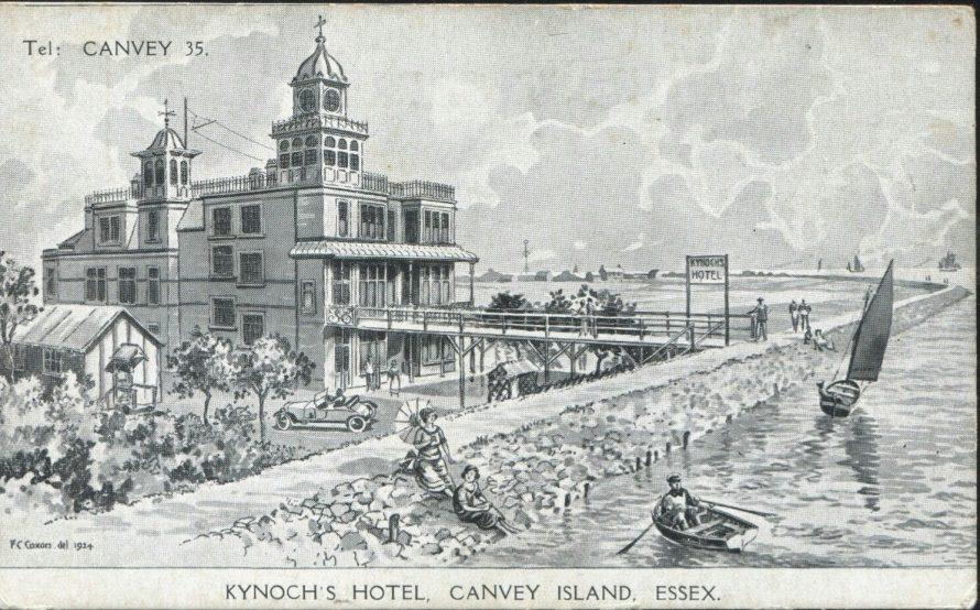 Advertising Postcard Kynoch Hotel