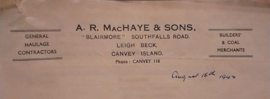 A R MacHaye and Sons