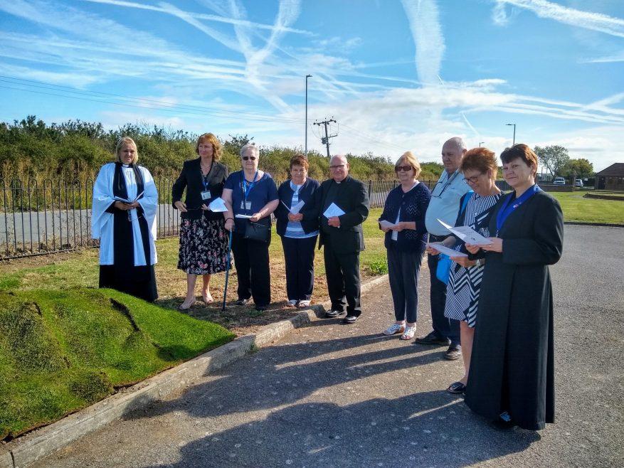 Re-internment Anglican Nuns