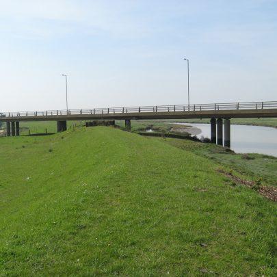 Canvey Way road bridge.