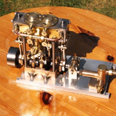 Steam engine for Wide A Wake