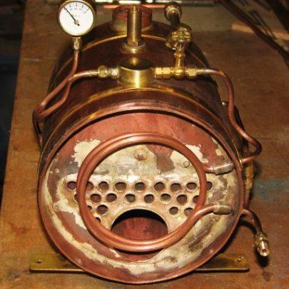 Boiler silver soldered