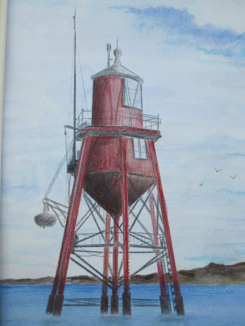 Chapman Lighthouse. 1851-1957