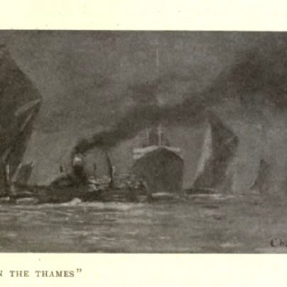 Illustration from The Lower Thames | Charles Pears