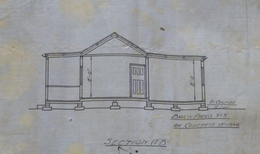 Building plan from the 20s | © Lawrence Family