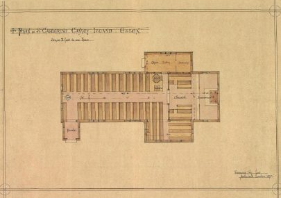St Katherine's Church Plan