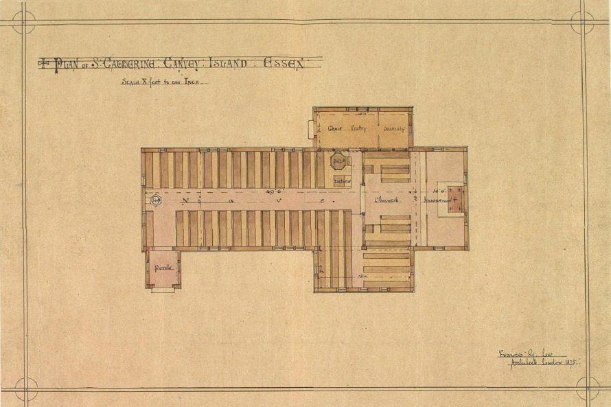 St Katherine's Church Plan