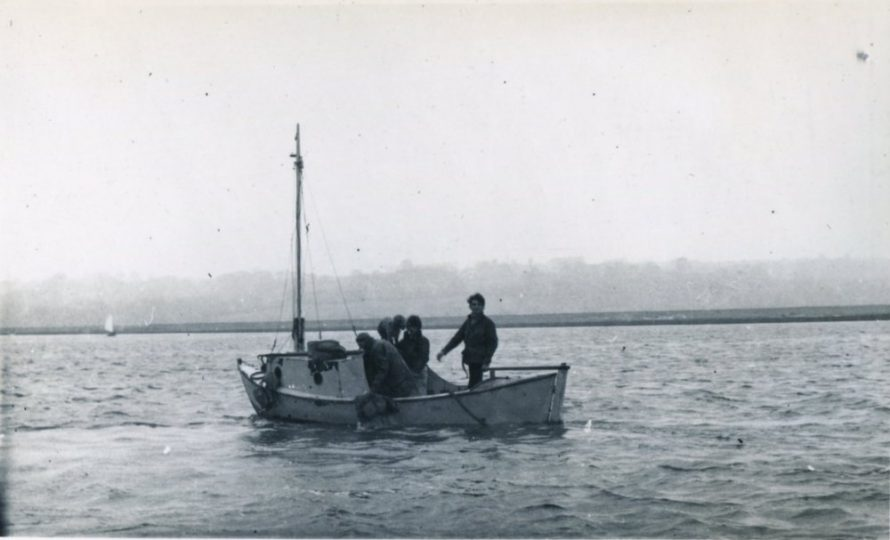 Albert Groom making a recovery from Dory