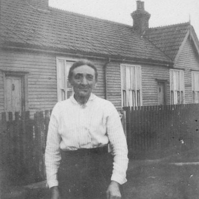 Oct 5th 1927. Mrs. Dedman outside Chase Cottages. | Joyce Cowell