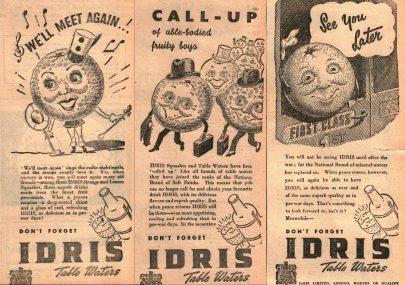 Idris Ads 1943