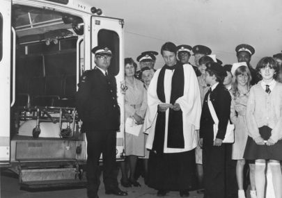 Ambulance Dedication at St Nicholas Church