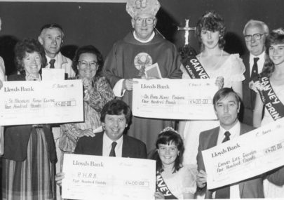 Cheque Presentation 1986