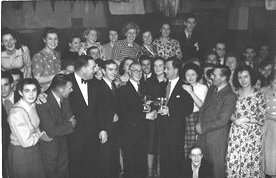 Canvey Rifle Club dance, probably late 1950's .Some names come to mind; Len Knapp,Bernard Giffiths,Alf Selby,Bill Bishop,Nora Bishop, Dorothy Varney,Lizy Bishop,Albert and Winnie Lynch . | Rod Bishop
