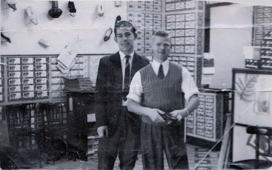 Ron Reynolds on the right with Peter. | Ron Reynolds