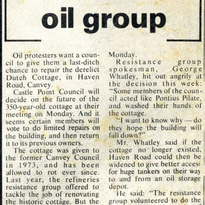 Canvey and Benfleet NewsJuly 1976
