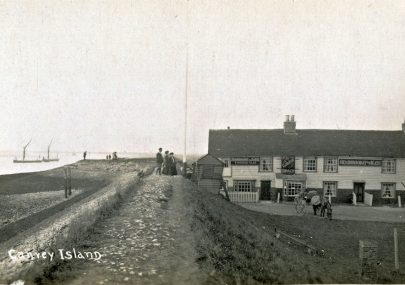 Early Postcard of the Lobster Smack