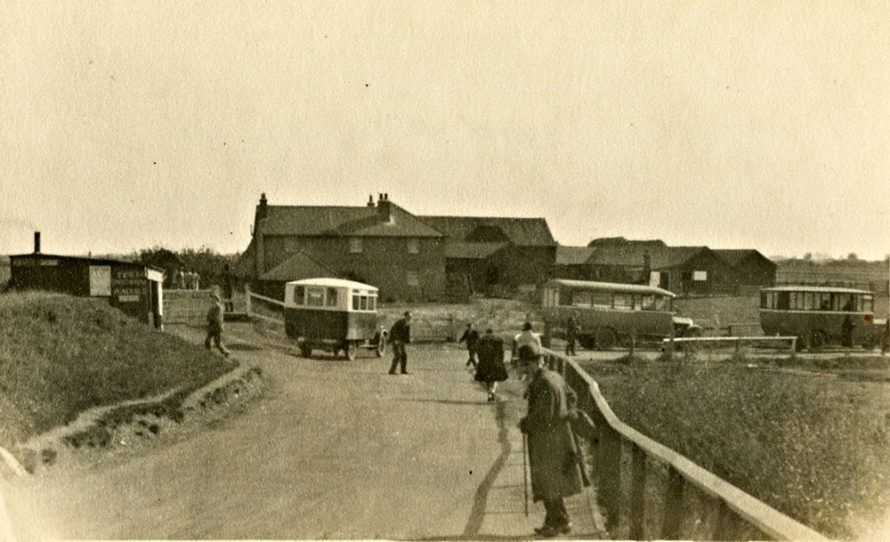 Bus Terminus at High Tide | Henry Clubb