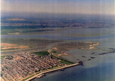 Two Aerial Photos Canvey Point